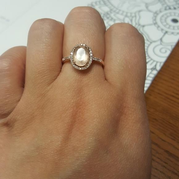 96d2cd1d7 Kay Jewelers Jewelry | Morganite And Diamond Rose Gold Ring | Poshmark